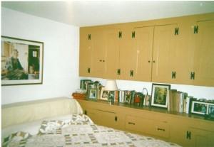 Organized spare room