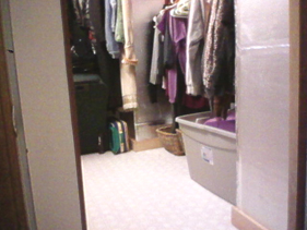 Organizing closet project - after