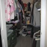 Organized client closet