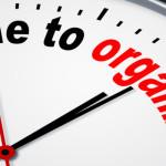 clock for organizing