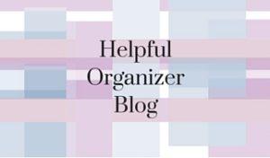 Helpful Organizer Blog