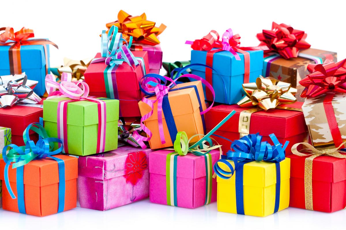 pile of gifts