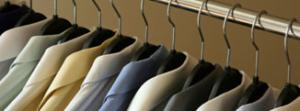 order in closet